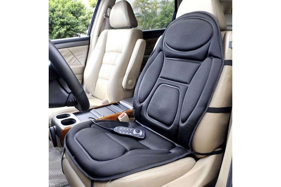Массажная накидка на сиденье автомобиля