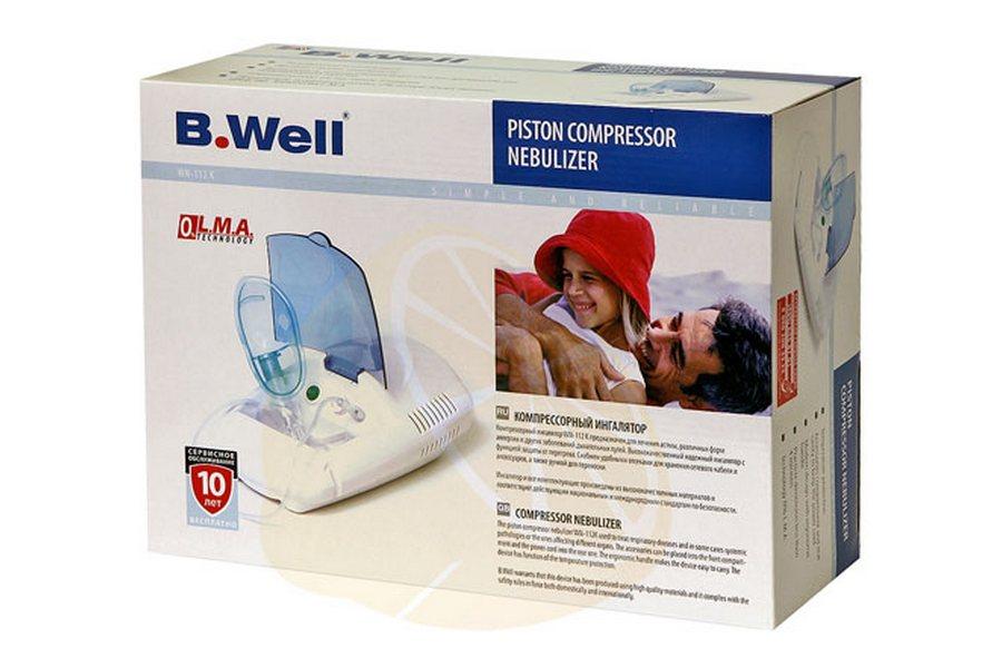 Ингалятор B.WELL WN-112 K. Купить компрессорный небулайзер B.Well WN-112 K.
